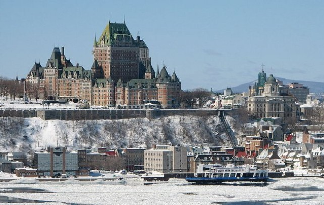 Quebec City and the Chateau Frontenac