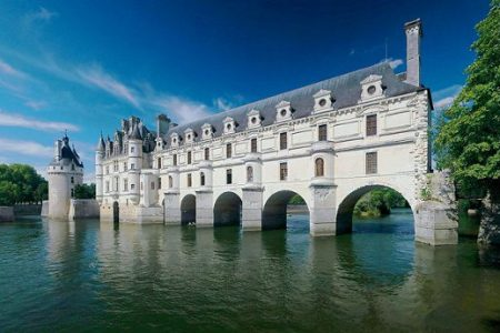 Panorama of Chateau de Chenonceau