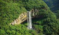 Caracol Falls, Gramado, Rio Grande Do Sul State, Brazil