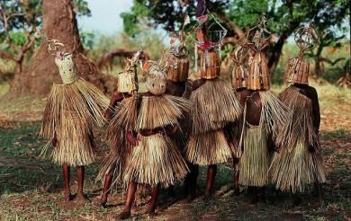 Initiation ritual of boys in Malawi
