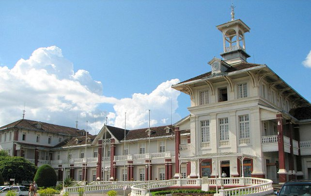 Hotel des Thermes a Antsirabe