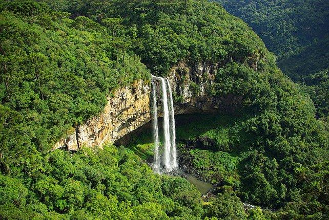 Caracol Falls, Gramado, Rio Grande Do Sul State