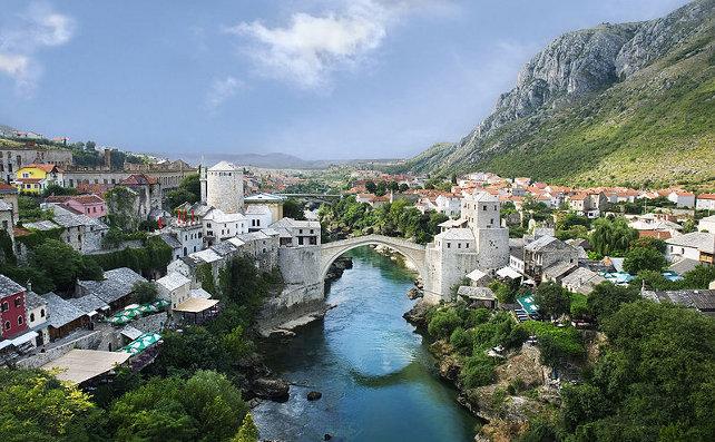 Herzegovina: The Old Town Panorama